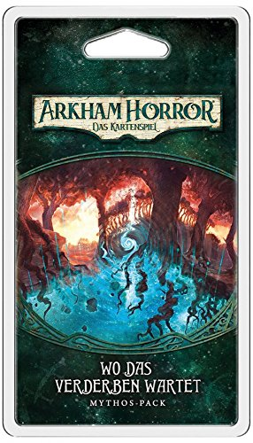 Arkham Horror - Das Kartenspiel LCG - Wo das Verderben wartet   Dunwich-Zyklus 5 Deutsch