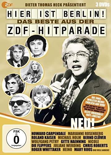 Hier ist Berlin! - Das Beste aus der ZDF-Hitparade (3 DVDs)