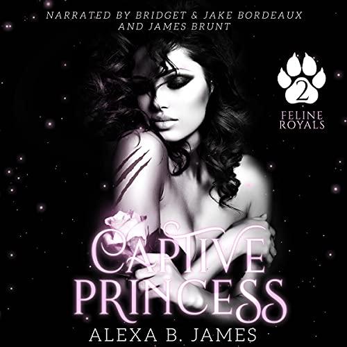 Captive Princess Audiobook By Alexa B. James cover art