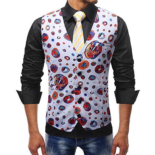 Story of life mode voor mannen casual klak-vest jurk bruiloft blazer vesten tops disco gala party gilet kostuum clubwear podium