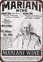 1899教皇レオマリファナワインヴィンテージレトロな金属記号