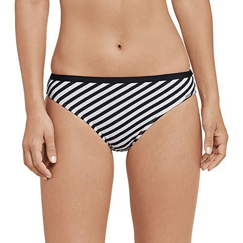 Schiesser Damen Mix & Match Bikinislip Tai Bikinihose, Schwarz (Schwarz 000), 44 (Herstellergröße: 044)