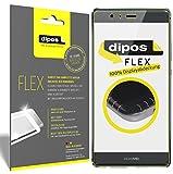 dipos I 3X Schutzfolie 100prozent kompatibel mit Huawei P9 Plus Folie (Vollständige Bildschirmabdeckung) Bildschirmschutzfolie