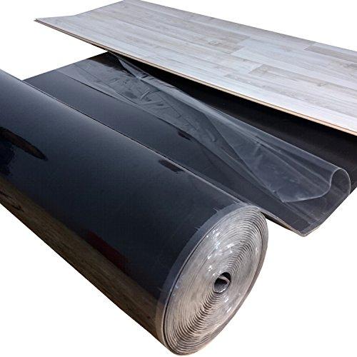 12,5 m² / Ufilon Speed Parkettunterlage STARK KLEBEND/Trittschalldämmung - Zur schwimmenden Verlegung von Massivholzdielen bis 20 mm, auch für Klickböden geeignet