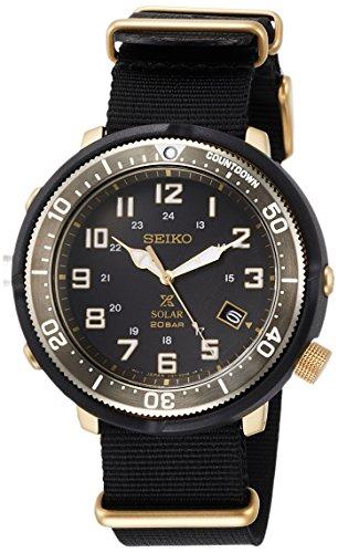 [セイコーウォッチ] 腕時計 プロスペックス LOWERCASEプロデュースカジュアルモデル SBDJ028 メンズ ブラック