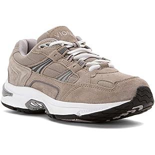 Vionic Orthaheel Technology Walker Walking Sneaker Shoe - Grey - Mens - 12