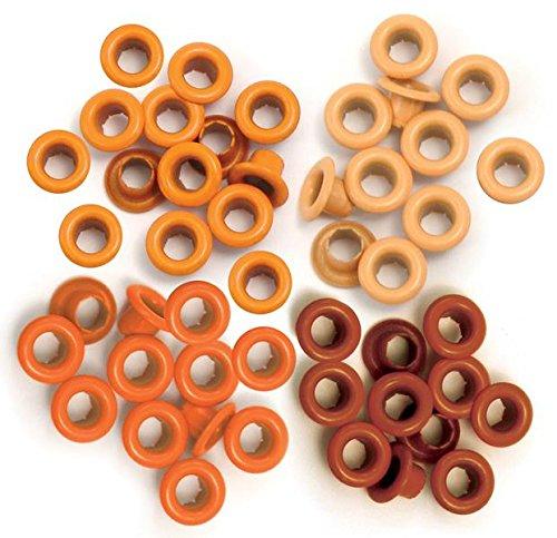 We R Memory Keepers Ösen zum Basteln, orange, Standard