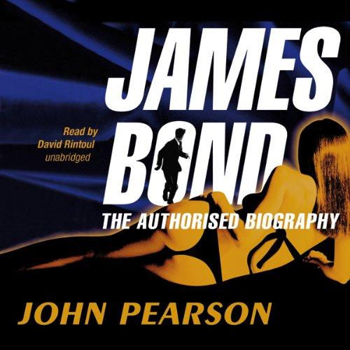 James Bond audiobook cover art