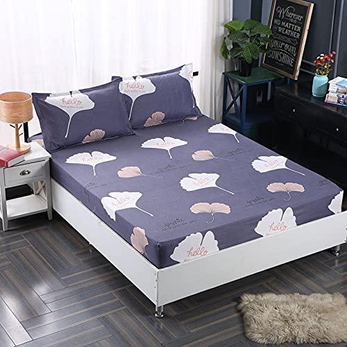 HAIBA Fundas de almohada transpirables, sin arrugas, gruesas y suaves, protege del polvo y la caspa, ideal para el hogar y el hotel, 48 x 74 cm