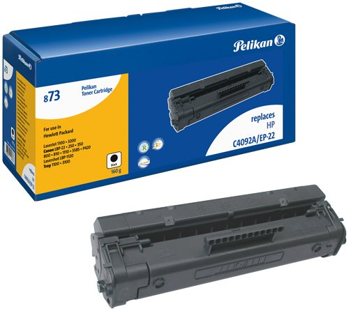 Pelikan (873) 621733 Toner-Modul schwarz (2500 S.) kompatibel mit HP-LJ-1100 C4092A