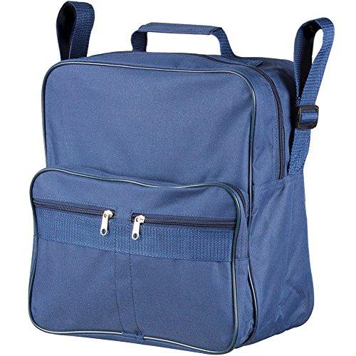 Rollstuhltasche, Aufbewahrungstasche Rückseite Rollstuhl | Einheitsgröße, 30 x 30 x 15 cm, blau
