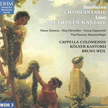 F. Liszt: Beethoven Kantate / L. v. Beethoven: Chorfantasie Op. 80