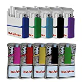 Ultimate Lighter Case Set by My Bondi | Premium Silicone Lighter Sleeves | Wrap Around Tobacco Pouch & Cigarette Case | Fits Most Lighters | Colorful & Durable Lighters Holder Multipack | (10)