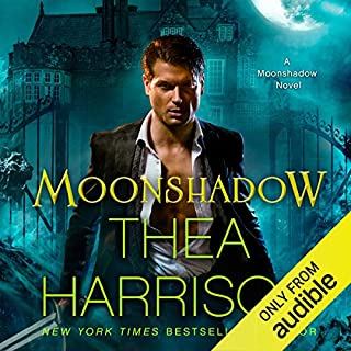 Moonshadow audiobook cover art