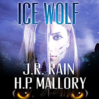 Ice Wolf audiobook cover art