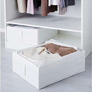 comprar comparacion Ikea Skubb - Mesita para debajo de la cama (2 unidades), color blanco