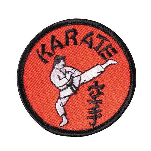 DEPICE Abzeichen Karate Kick Stickabzeichen Aufnäher gestickt Patch