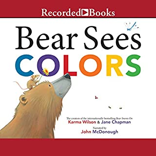 Bear Sees Colors audiobook cover art