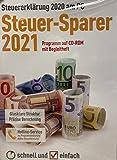 Steuersoftware 2021 für das Steuerjahr 2020 Steuer-Sparer CD Steuererklärung Elster