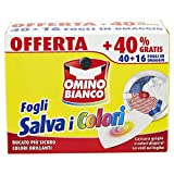 Omino Bianco – Fogli Salva Colore, 40 Pezzi + 16 Omaggio