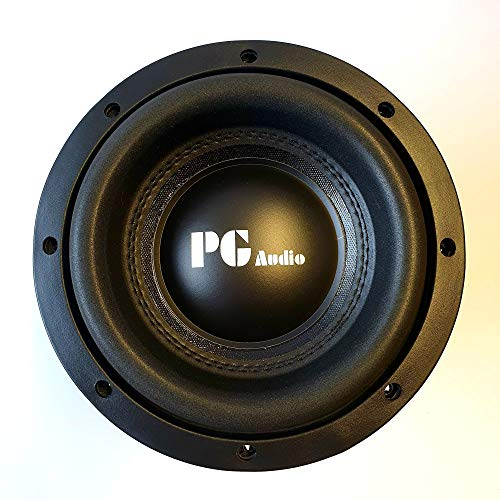 PG Audio Xtreme SPL 08 High End Subwoofer Basslautsprecher 20cm 8 Zoll 1 Stück