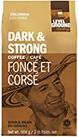 Save on Level Ground, Direct Fair Trade, Colombia Dark & Strong , Whole Bean Coffee, 908g and more