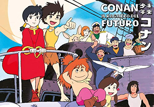DYNIT Conan, Il Ragazzo Del Futuro - Poster 91.5 x 60 Sail