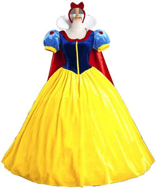 Cosplay Costume, American Lady Sexy Cloak, Snow White Costume, Halloween Performance Costume,S