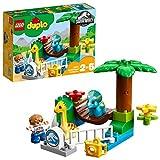 LEGO DUPLO Jurassic World - Minizoo: Gigantes Mansos, Juguete de Preescolar con Muñecos...