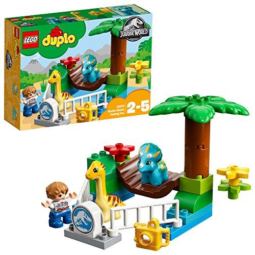 lego duplo world animal LEGO 10879 DUPLO Jurassic World Lo zoo dei giganti gentili (Ritirato dal Produttore)