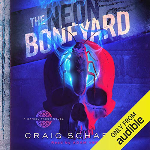 The Neon Boneyard audiobook cover art