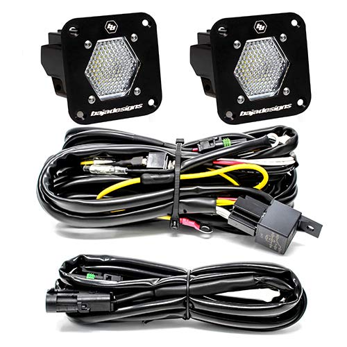 Keep It Clean 11408 Light Kit GhostLight Clear w//Yellow LED 7.5 Single Flush Mount Light Kit with Sequencing