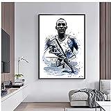 Jinbox Player Poster Jesse Owens Leinwand Wand Bilderdrucke