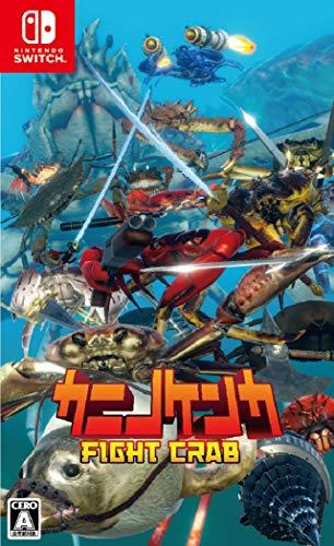 カニノケンカ -Fight Crab- - Switch (【パッケージ版早期購入特典】Fight Crab - Sound Track & 【Amazon.co.jp限定特典】カニカニバッジセット(ズワイ・タラバ)ホログラム仕様 同梱)  同梱)