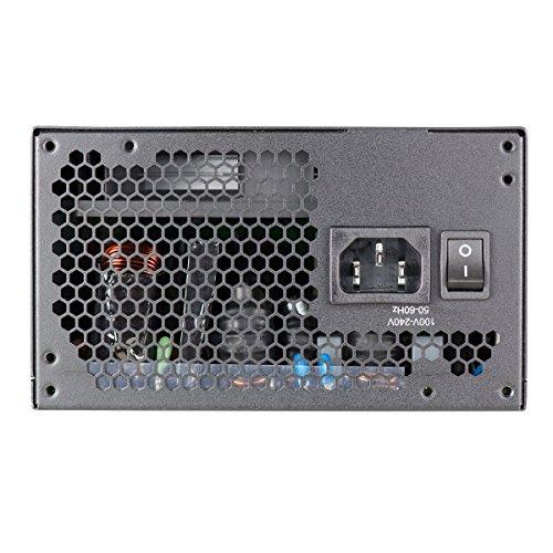 EVGA 210-GQ-0650-V1 650 GQ, 80+ GOLD 650W, Semi Modular, EVGA ECO Mode, 5 Year Warranty, Power Supply, Black