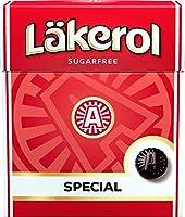 Cloetta Läkerol クロエッタ ラケロール スペシャル味 25g ×4箱 スゥエーデンのハードグミです [並行輸入品]