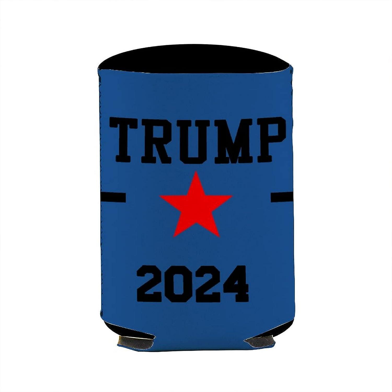 BMAVIS Trump 2024 Can Cooler Sleeves Party Gift Beer Drink Cool