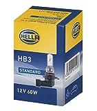 HELLA 8GH 005 635-121 Lampadina - HB3 - Standard - 12V - 60W - Tipo zoccolo: P20d - Scatola - Quantità: 1