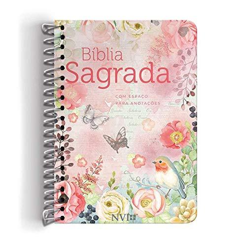 Bíblia Anote Nvi Grande Capa Espiral Clássica Virtuosa