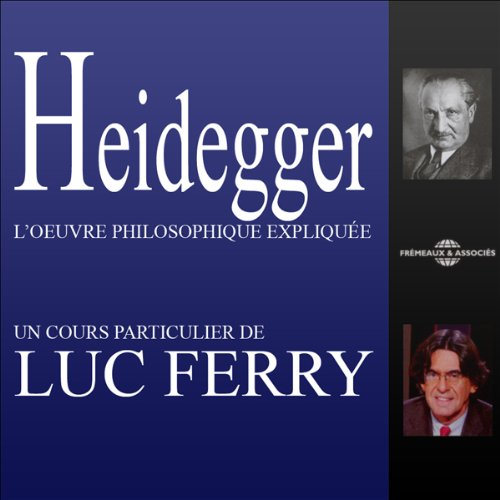 Heidegger audiobook cover art