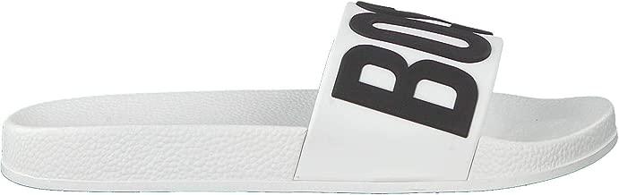 BOSS Badelatschen Slides Badeschuhe J29199 Marine