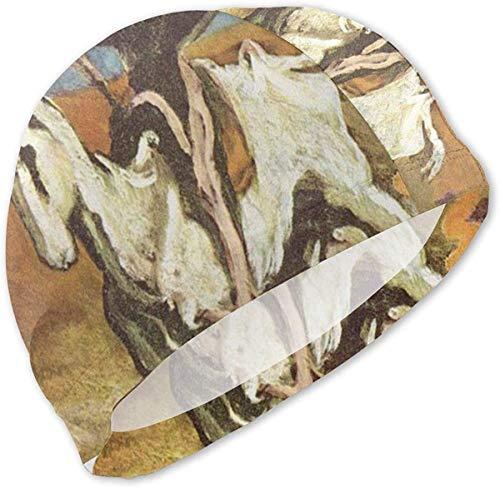 Gorro de baño Don Quijote y Sancho Pansa para niños Gorro de baño para niños