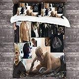 Draco Malfoy - Ropa de Cama Doble de Lujo, Juego Grande de Tres Piezas, Talla única