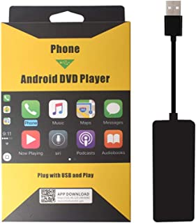 Carlinkit Wireless USB Carplay Dongle Adapter with Android Auto Carplay Navigation Mirroring for Android Head Unit Bluetooth