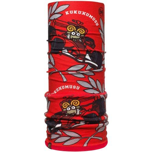 Buff Cache-col Polaire Multifonctions pour Enfant Rouge KUK Frenando-2/rouge 23 cm