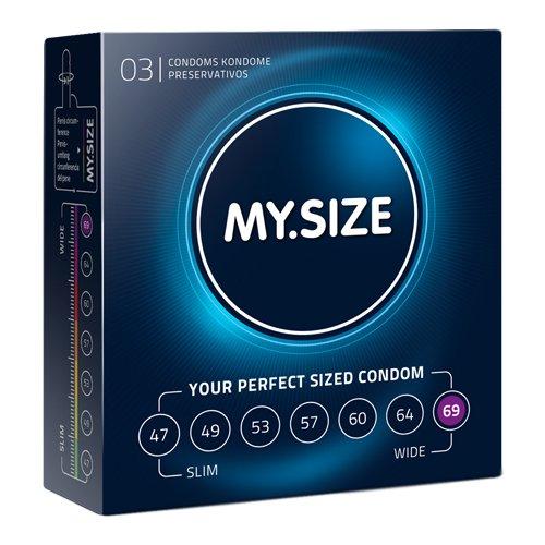 My.Size - MY.SIZE 69 mm Condooms 3 stuks
