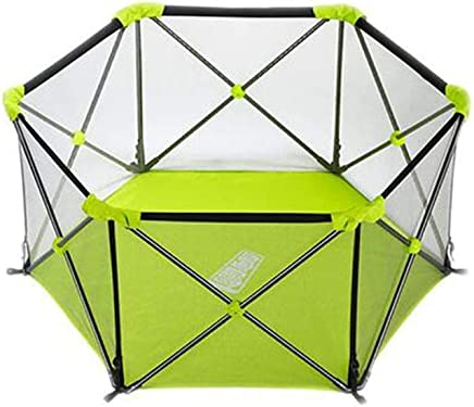 WANNA ME Baby Playpen Children s play fence folding baby indoor fence baby crawl toddler park Strong And Durable Made From Non-To  color Green