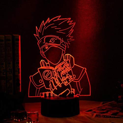 Luces de decoración de la habitación de los niños de la luz de la noche del anime japonés