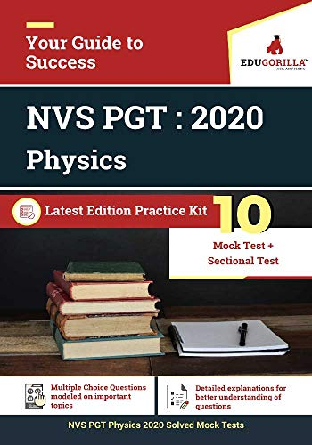 NVS PGT Physics 2020 | 10 Mock Test + Sectional Test (English Edition)