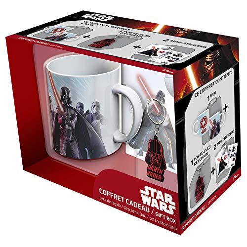 ABYstyle - STAR WARS - coffret cadeau - Mug 320ml + Keyring PVC + Sticker Vador